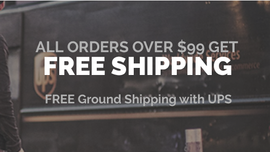 Free shipping over 99