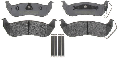 Picture of 17D1040AMHPV Police Semi-Metallic Disc Brake Pad  By ACDELCO SPECIALTY CANADA