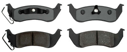 Picture of 17D1040AMHPVF1 Police Semi-Metallic Disc Brake Pad  By ACDELCO SPECIALTY CANADA