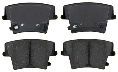 Picture of 17D1057AMHPVF1 Police Semi-Metallic Disc Brake Pad  By ACDELCO SPECIALTY CANADA