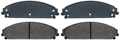 Picture of 17D1058MHPVF1 Police Semi-Metallic Disc Brake Pad  By ACDELCO SPECIALTY CANADA