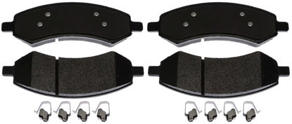 Picture of 17D1084MHSV Fleet Semi-Metallic Disc Brake Pad  By ACDELCO SPECIALTY CANADA