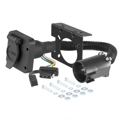 Picture of 55664 OEM Vehicle To Trailer Connector w/Harness  By CURT MFG INC
