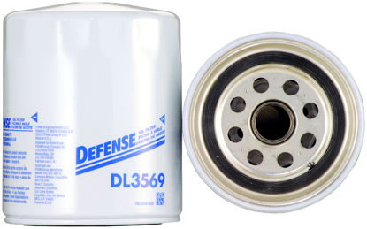 Picture of DL3569 Engine Oil Filter  By DEFENSE FILTERS