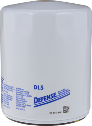 Picture of DL5 Engine Oil Filter  By DEFENSE FILTERS