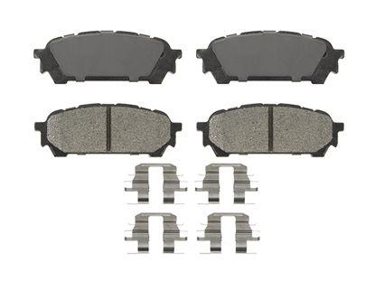 Picture of PMD1004 Premium Semi-Metallic Brake Pads  By IDEAL BRAKE PARTS