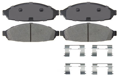 Picture of XMD931 Severe Duty Brake Pads  By IDEAL BRAKE PARTS