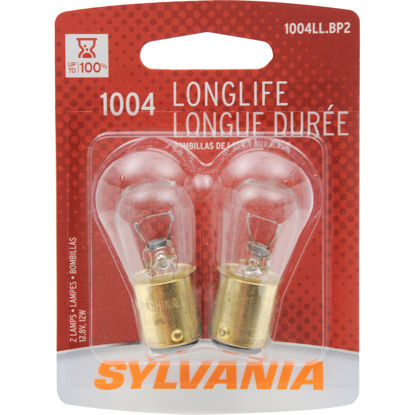 Picture of 1004LL.BP2 Long Life Blister Pack Twin Courtesy Light Bulb  By SYLVANIA