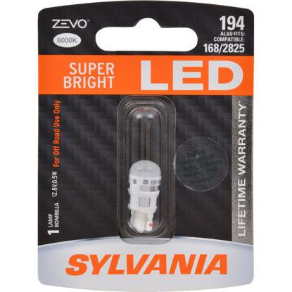 Picture of 194LED.BP ZEVO Blister Pack Side Marker Light Bulb  By SYLVANIA