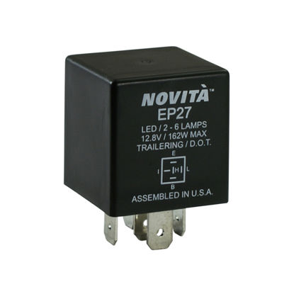 Picture of EP27 Hazard Warning and Turn Signal Flasher  By NOVITA FLASHERS
