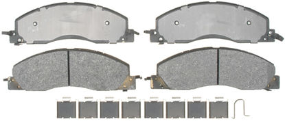 Picture of 17D1399MH Semi Metallic Disc Brake Pad  By ACDELCO PROFESSIONAL BRAKES CANADA