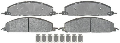 Picture of 17D1400MH Semi Metallic Disc Brake Pad  By ACDELCO PROFESSIONAL BRAKES CANADA