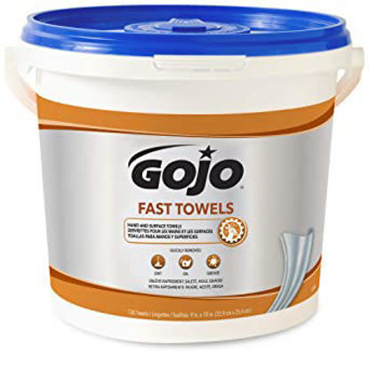 Picture of GOJO Fast Towels 225 count 6299-02