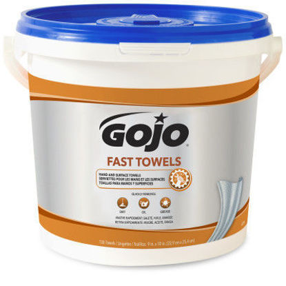 Picture of GOJO Fast Towels 130 Count 6298-04