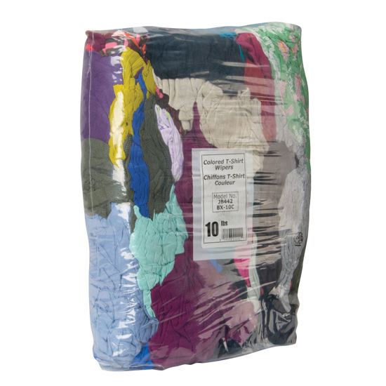 Picture of Wiping Rags - 10Lb Vacuum Sealed Bag