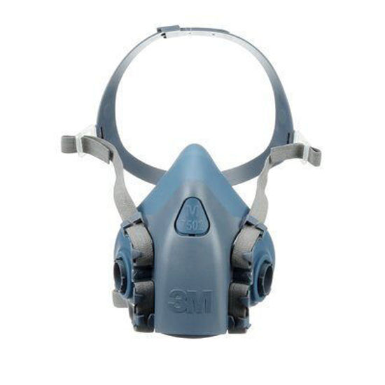 Picture of Medium - Reusable Facepiece Resiprator - 3M 7502 1/bag - Mask Only