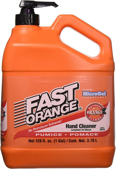 Picture of FAST ORANGE 25219 White Pumice Lotion Hand Cleaner 3.78L Jug