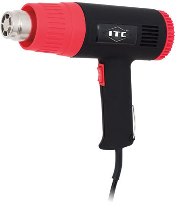 Picture of ITC Professional 10-Piece Mechanic's Heat Gun Kit, 12.5 Amp 120V Motor, 11981