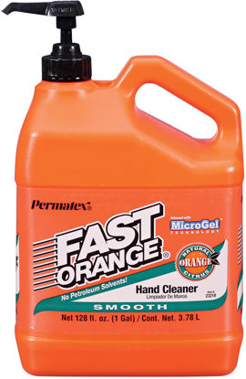 Picture of FAST ORANGE 23218 White Smooth Lotion Hand Cleaner 3.78L Jug