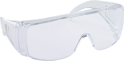 Picture of SAS Safety - 5120 Worker Bee Safety Glasses - Clear Frame - Clear Lens