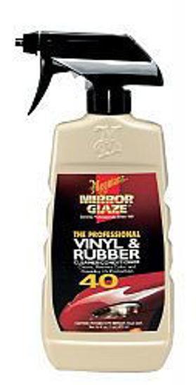 Picture of MEGUIAR'S® MIRROR GLAZE™ PROFESSIONAL VINYL & RUBBER CLEANER/CONDITIONER, M4016C, 16 FL. OZ. (463 ML)