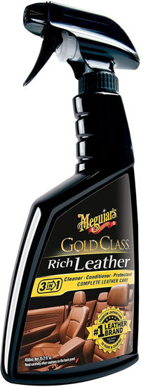 Picture of MEGUIAR'S® GOLD CLASS™ RICH LEATHER CLEANER & CONDITIONER, G10916C, 15.2 FL. OZ. (450 ML)