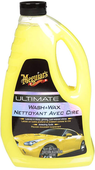 Picture of MEGUIAR'S® ULTIMATE™ WASH & WAX, G17748C, YELLOW, 48 FL. OZ. (1.42 L)