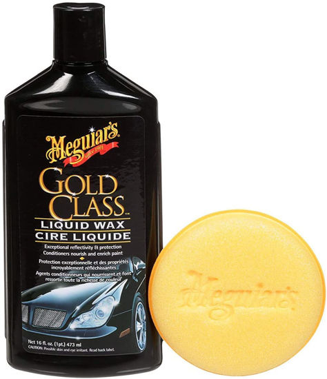 Picture of MEGUIAR'S® GOLD CLASS™ LIQUID WAX, G7016C, 16 FL. OZ. (454 ML)