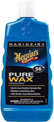 Picture of Meguiar's M5616 Marine/RV Pure Wax Carnauba Blend, 16 Fluid Oz