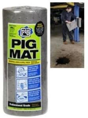 "Picture of New Pig Corp. 25201 Universal Light-Weight Absorbent Mat Roll - 15"" x 50'"