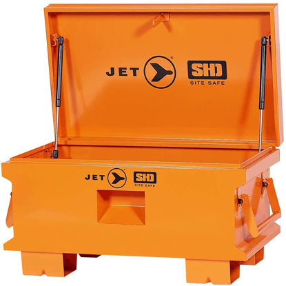 Picture of Jet 842480 - 32-Inch X 19-Inch Jobsite Tool Storage Box-Super Heavy Duty