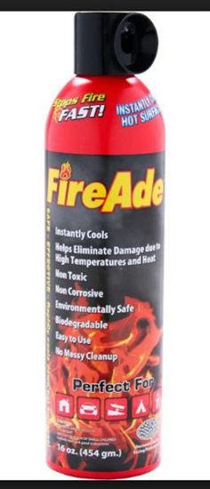 Picture of FireAde Personal Fire Suppression - 16FA2K-FC-12PDQ