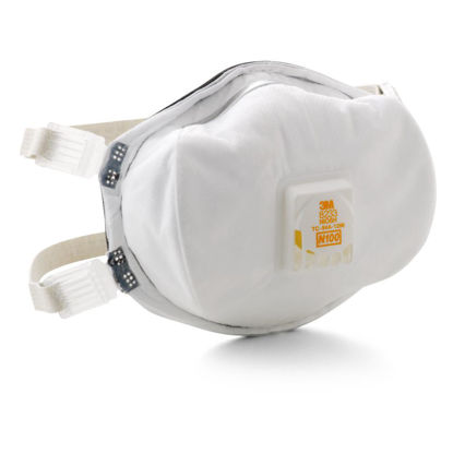 Picture of 3M™ Particulate Respirator, 8233, N100 (Pack of 1)
