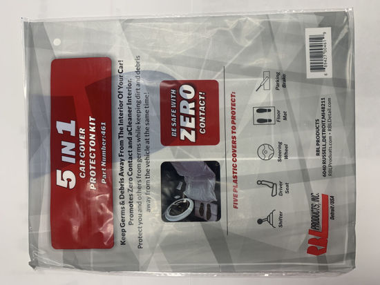 Picture of Zero Contact - 5 in 1 Car Cover Protection Kit