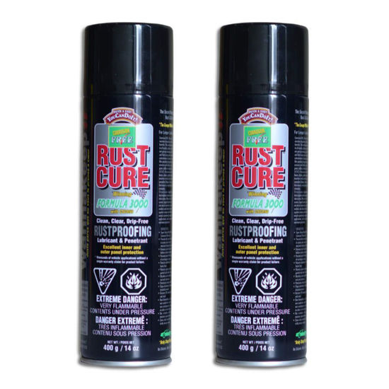 Picture of Corrosion Free - Rust Cure Formula 3000 Aerosol Cans - 2 Pack
