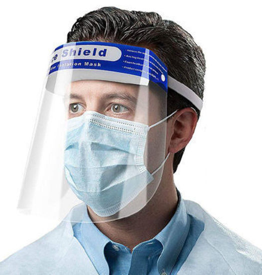 Picture of Face Shield - Protective Isolation Mask
